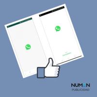 """WhatsApp """"from Facebook"""" y la llegada del tema oscuro a tu gusto."""